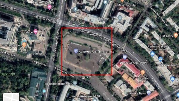 В центре Ташкента началась новая стройка - Sputnik Ўзбекистон
