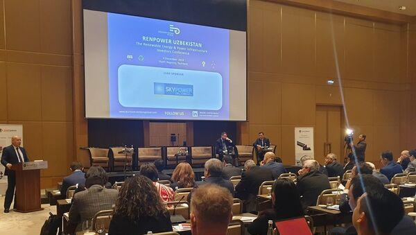 Конференция инвесторов в области возобновляемых источников энергии и энергетической инфраструктуры RENPOWER Uzbekistan 2019 - Sputnik Ўзбекистон