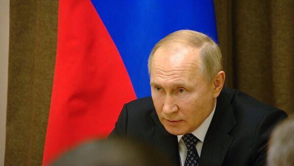 Putin: priblijeniye NATO k granitsam Rossii ugrojayet bezopasnosti stranы - Sputnik Oʻzbekiston