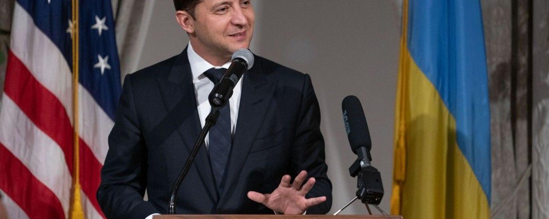 Президент Украины Владимир Зеленский - Sputnik Ўзбекистон, 1920, 15.09.2021