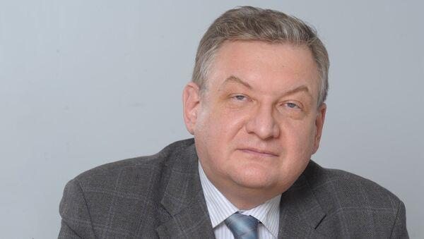 Проректор Финансового университета при Правительстве РФ Алексей  Зубец - Sputnik Узбекистан