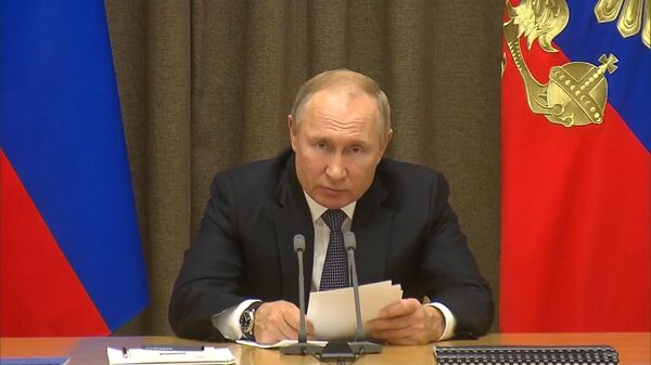 Vladimir Putin: Rossiya vыstupayet protiv militarizatsii kosmosa - Sputnik Oʻzbekiston