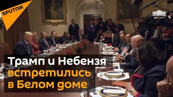 Дональд Трамп пообещал решить проблему с невыдачей виз российским дипломатам в ООН - Sputnik Узбекистан
