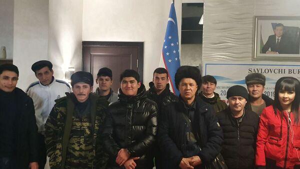 МВД возвращает нелегальных мигрантов с Казахстана - Sputnik Ўзбекистон