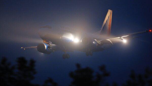 Туман самолет - Sputnik Ўзбекистон