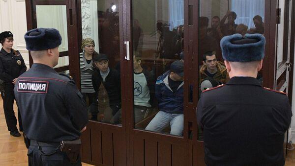 Заседание суда по делу о теракте в метро Санкт-Петербурга - Sputnik Ўзбекистон