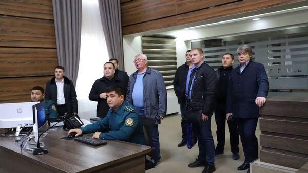 Делегация МВД РФ в Узбекистане - Sputnik Узбекистан
