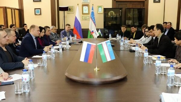 Деловые круги Нижегородской области в Ташкенте - Sputnik Узбекистан