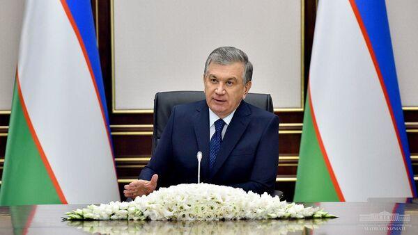 Президент Республики Узбекистан Шавкат Мирзиёев 11 декабря провел совещание, посвященное результативности реформирования предприятий с участием государства и приоритетным задачам в этом направлении - Sputnik Узбекистан