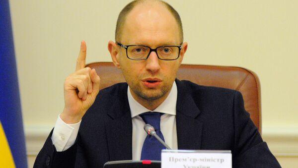 Ukrainaning sobiq prezidenti Arseniy Yatsenyuk - Sputnik Oʻzbekiston