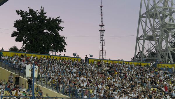 Zriteli na stadione Paxtakor - Sputnik Oʻzbekiston