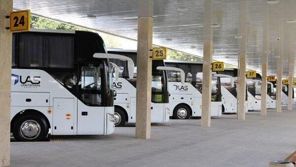 Автобусное сообщение из Ташкента в Москву - Sputnik Ўзбекистон