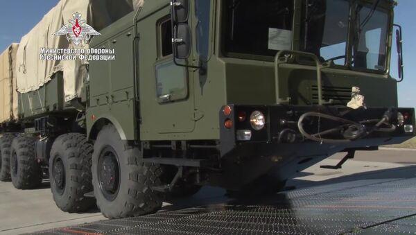 Доставка компонентов ЗРС С-400 в Турцию - Sputnik Узбекистан