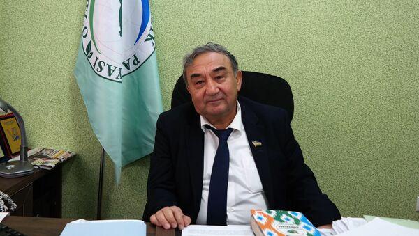 Boriy Alixanov, predsedatel Ekologicheskoy partii RUz - Sputnik Oʻzbekiston