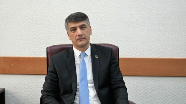 Alisher Kadirov, predsedatel partiiMilliy tiklanish i zamestitel spikera Zakonodatelnoy palatы - Sputnik Oʻzbekiston