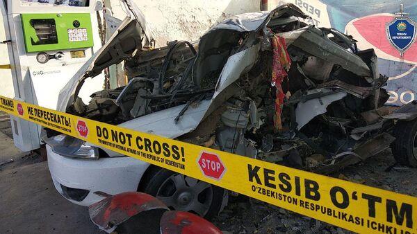 В Андижанской области на газозаправочной станции взорвался автомобиль - Sputnik Узбекистан
