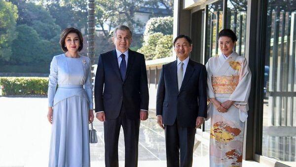 Шавкат Мирзиёев с супругой встретились с императором Японии Нарухито - Sputnik Ўзбекистон