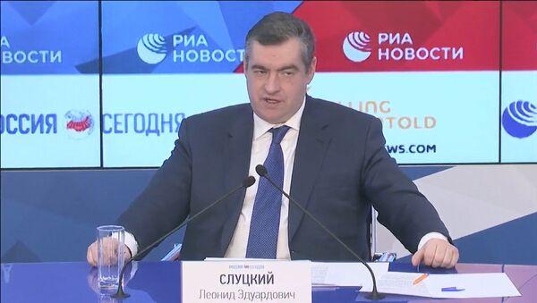 Слуцкий об угрозах Sputnik Эстония: надеюсь, эта ситуация будет разрешена - Sputnik Узбекистан
