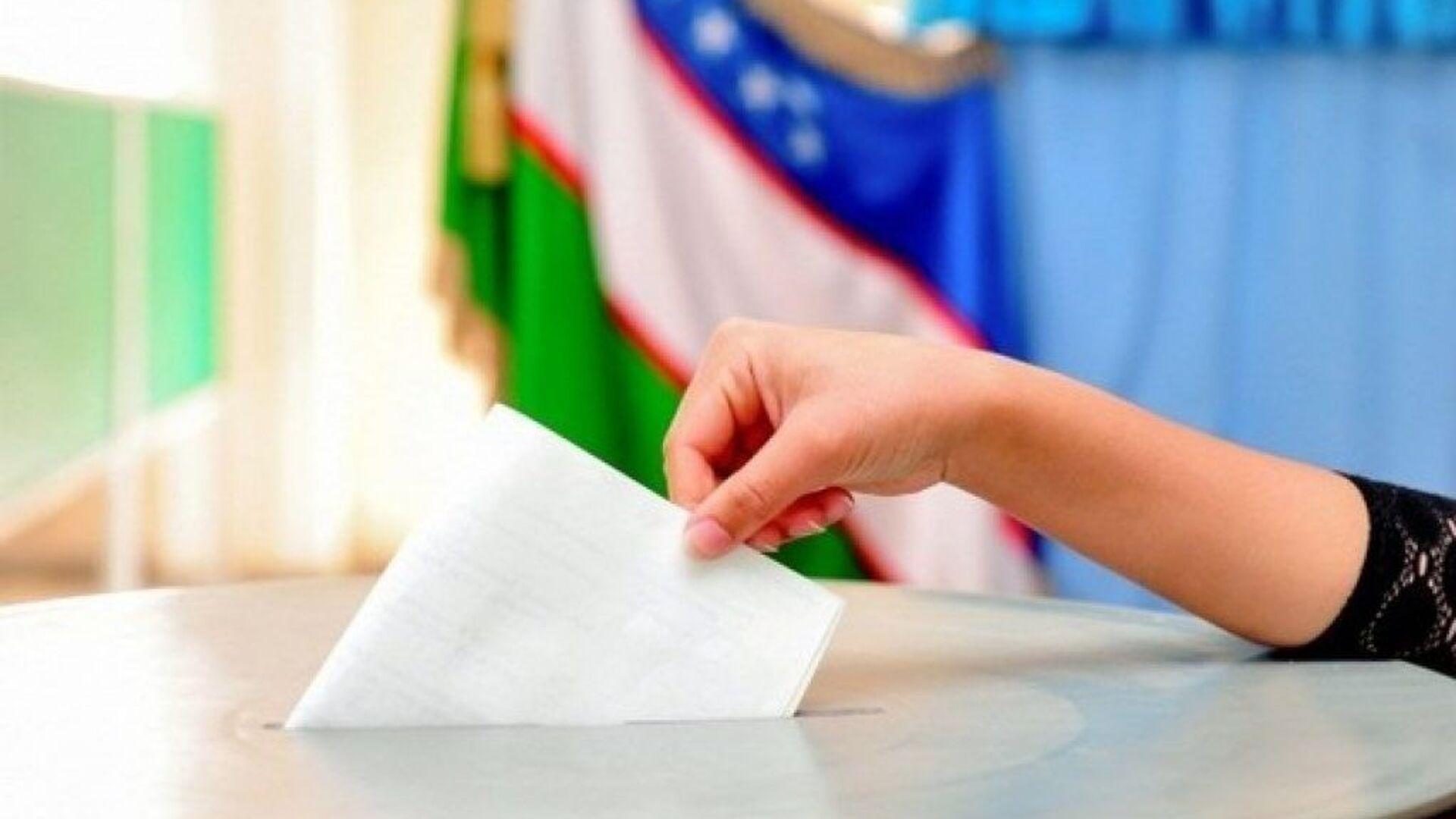 Выборы в Узбекистане - Sputnik Узбекистан, 1920, 07.10.2021