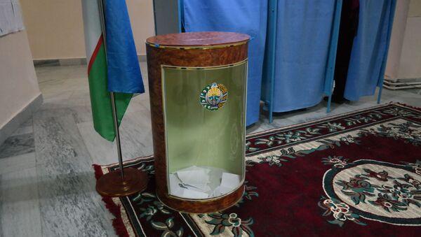 Избирательный участок в Узбекистане - Sputnik Ўзбекистон
