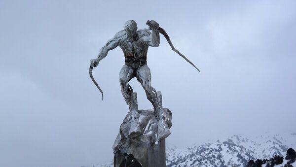 Открытие горнолыжного курорта Амирсой в Ташкентской области - Sputnik Ўзбекистон