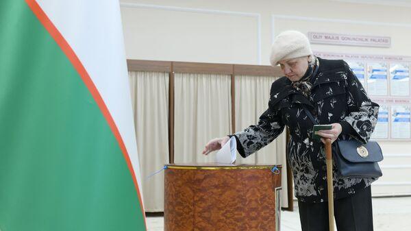 Golosovaniye na parlamentskix vыborax v Uzbekistane - Sputnik Oʻzbekiston