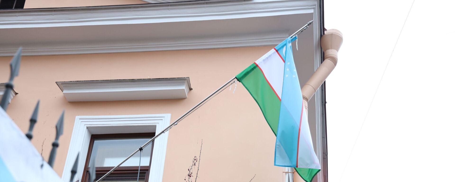 Flag Uzbekistana - Sputnik Oʻzbekiston, 1920, 18.03.2021