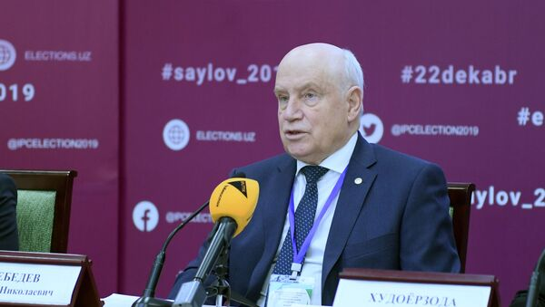 Глава миссии СНГ на выборах в Узбекистане Сергей Лебедева - Sputnik Узбекистан