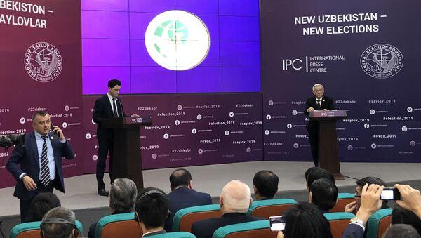 Оглашение результатов выборов в парламент Узбекистана - Sputnik Ўзбекистон