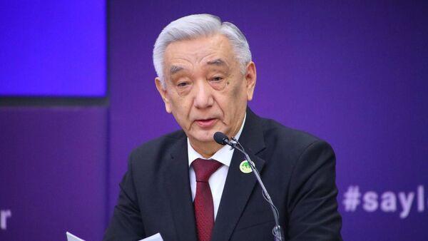 Mirzo-Ulugbek Abdusalomov, predsedatel Tsentralnoy izbiratelnoy komissii - Sputnik Oʻzbekiston