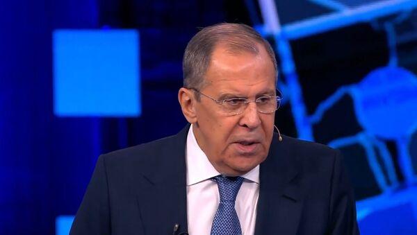 Lavrov: Rossiya otvetit na amerikanskiye sanktsii protiv Severnogo potoka – 2  - Sputnik Oʻzbekiston
