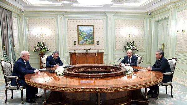 Президент Узбекистана принял председателя Исполнительного комитета – Исполнительного секретаря СНГ - Sputnik Ўзбекистон