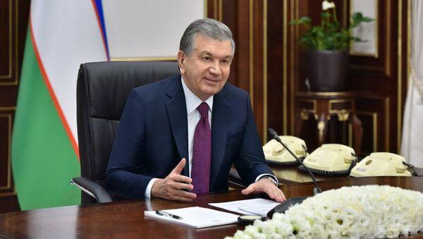 Президент Республики Узбекистан Шавкат Мирзиёев 25 декабря провел совещание по вопросам активного привлечения и эффективного использования грантов - Sputnik Ўзбекистон