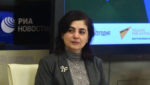 Руководитель отдела экономики Института стран СНГ Аза Мигранян - Sputnik Узбекистан