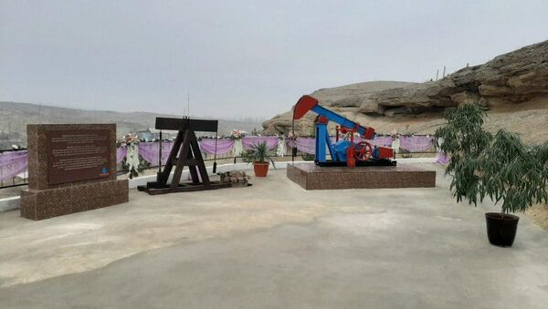 Музей нефти и газа в городке Чимган, Ферганская область - Sputnik Ўзбекистон