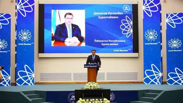 Председатель Минюста Узбекистана Руслан Давлетов - Sputnik Ўзбекистон