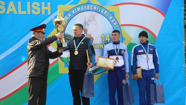Полумарафон Патриотическая акция в Ташкенте - Sputnik Ўзбекистон