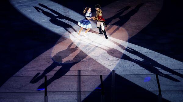 Ледовое шоу Настоящий Щелкунчик на Humo Arena в Ташкенте - Sputnik Узбекистан