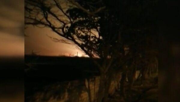 Krusheniye ukrainskogo samoleta v aeroportu Tegerana popalo na video - Sputnik Oʻzbekiston