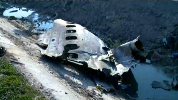 На месте крушения украинского лайнера в Иране работают спасатели: никто не выжил - Sputnik Узбекистан