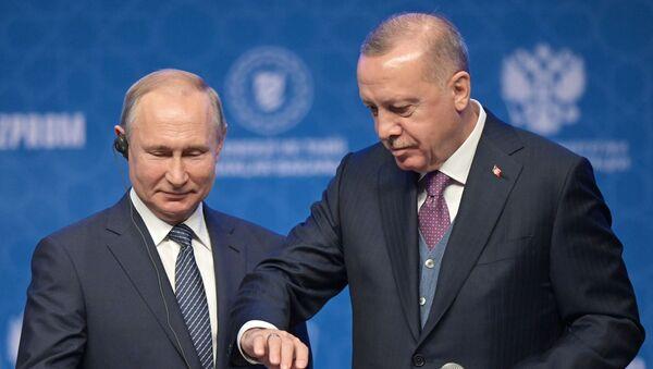 Rabochiy vizit prezidenta RF V. Putina v Turetskuyu Respubliku - Sputnik Oʻzbekiston