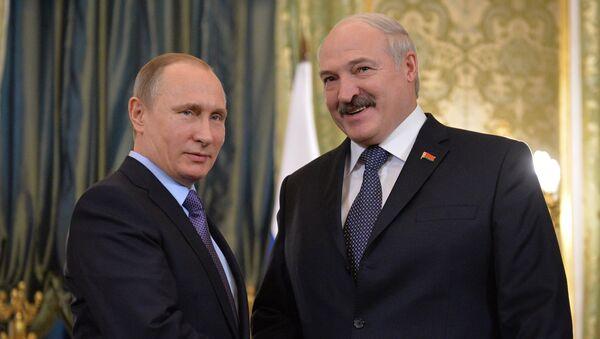 Президент РФ В.Путин провел российско-белорусские переговоры - Sputnik Ўзбекистон