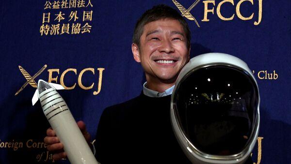 Японский миллиардер Юсаку Маэдзава - Sputnik Узбекистан
