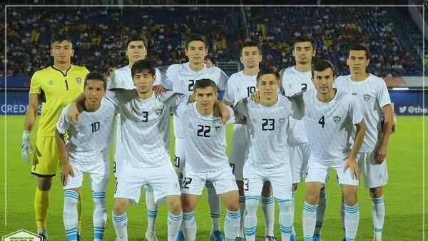 Олимпийская сборная Узбекистана провела матч против команды Китая в рамках второго тура чемпионата Азии U-23 по футболу - Sputnik Ўзбекистон