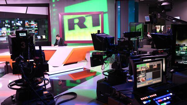 Офис телеканала RT в Москве - Sputnik Узбекистан