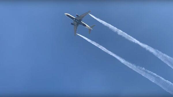 Delta flight dumps jet-fuel over Los Angeles - Sputnik Узбекистан