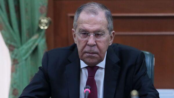 Ispolnyayuщiy obyazannosti ministra inostrannыx del RF Sergey Lavrov - Sputnik Oʻzbekiston