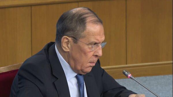 Sergey Lavrov o situatsii so Sputnik Estoniya: eto vozmutitelno - Sputnik Oʻzbekiston