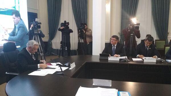 Oglasheniye rezultatov vыborov v senat - Sputnik Oʻzbekiston