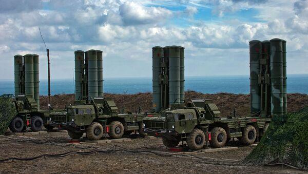 Zenitnыy raketnыy kompleks S-400 Triumf - Sputnik Oʻzbekiston